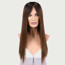Load image into Gallery viewer, Eve 100% Human Hair Monofilament Wigs T1B/4