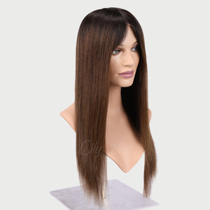 Eve 100% Human Hair Monofilament Wigs T1B/4
