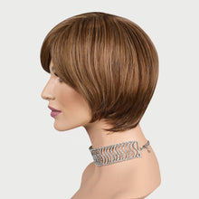 Load image into Gallery viewer, Hannah 100% Human Hair Pixie Monofilament Wigs H6/12