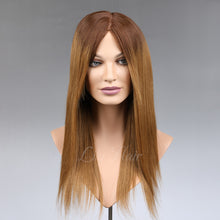 Load image into Gallery viewer, Marlena 100% Human Hair Monofilament Wigs T4/8