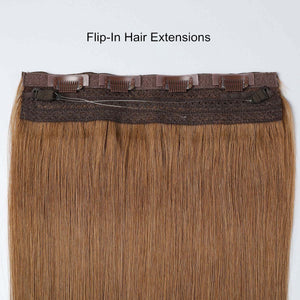 #4/8 Highlights Color Halo Hair Extensions