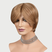 Load image into Gallery viewer, Janell 100% Human Hair Pixie Monofilament Wigs #12