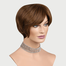 Load image into Gallery viewer, Monique 100% Human Hair Pixie Monofilament Wigs #6