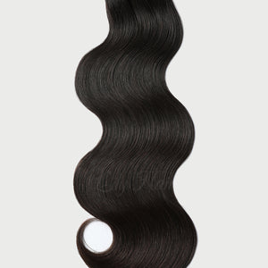 Unprocessed Natural Color Halo Hair Extensions