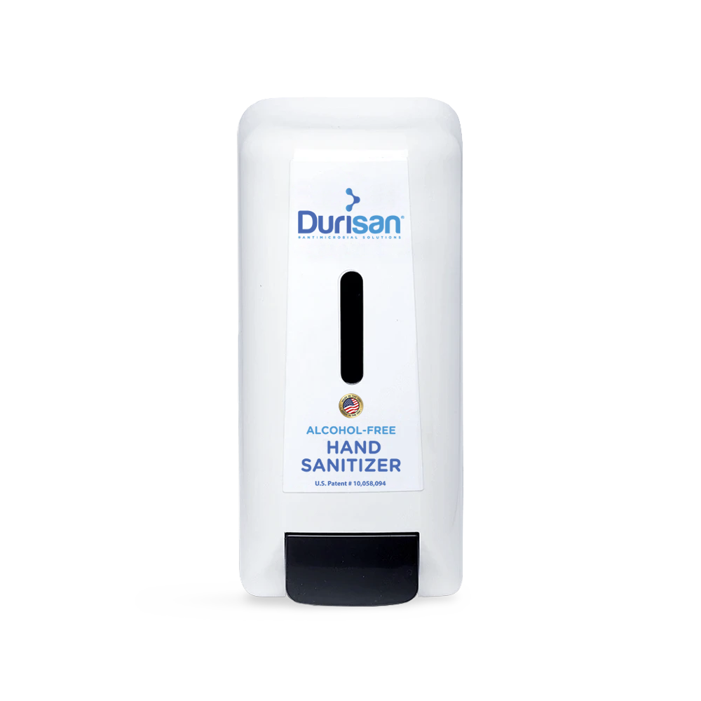 Durisan Manual Dispenser for 1000 mL Alcohol-Free Hand Sanitizer