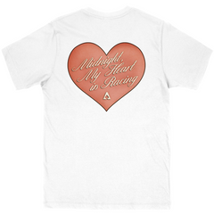 Heart Is Racing T-shirt - White