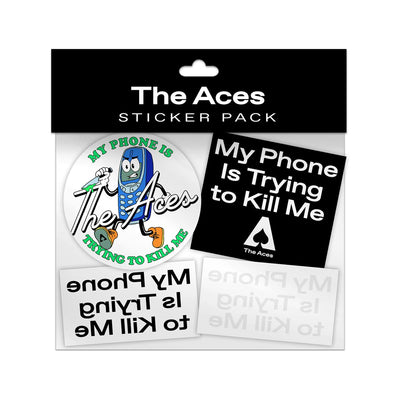 My Phone Sticker Pack + Album-The Aces