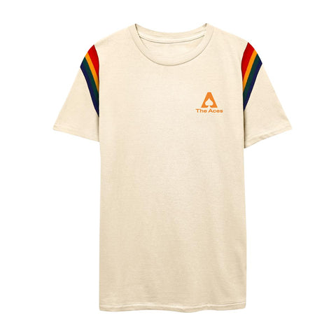 Retro Pride Tee - Cream