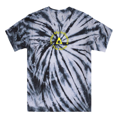 Under My Influence Tie Dye Tee - Black/White-The Aces