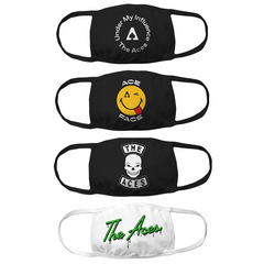 4-Mask Bundle - Ace Face, Under My Influence, Slime and Skull designs
