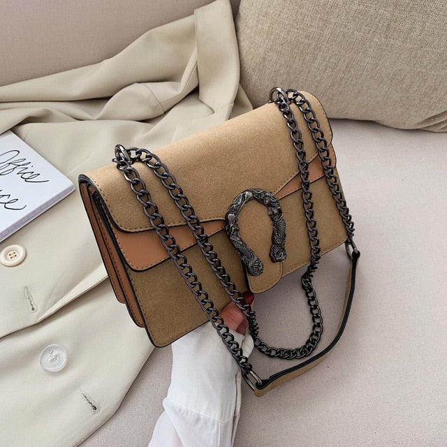 Pamela Luxury PU Leather Crossbody Bag