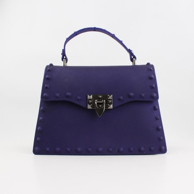 Ada Luxury PVC Hard Rivet Bag