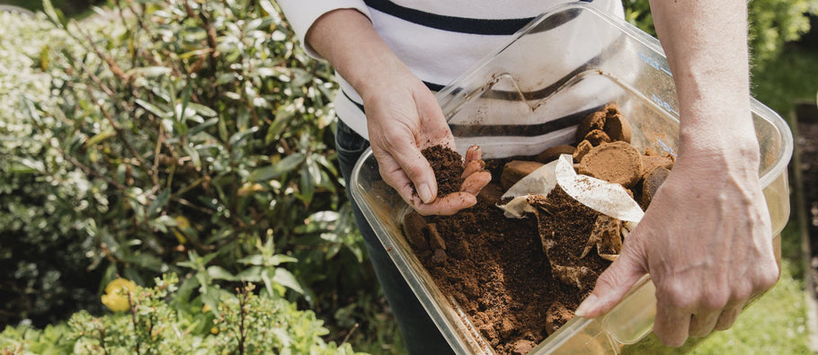 5 WAYS TO REUSE YOUR COFFEE GROUNDS