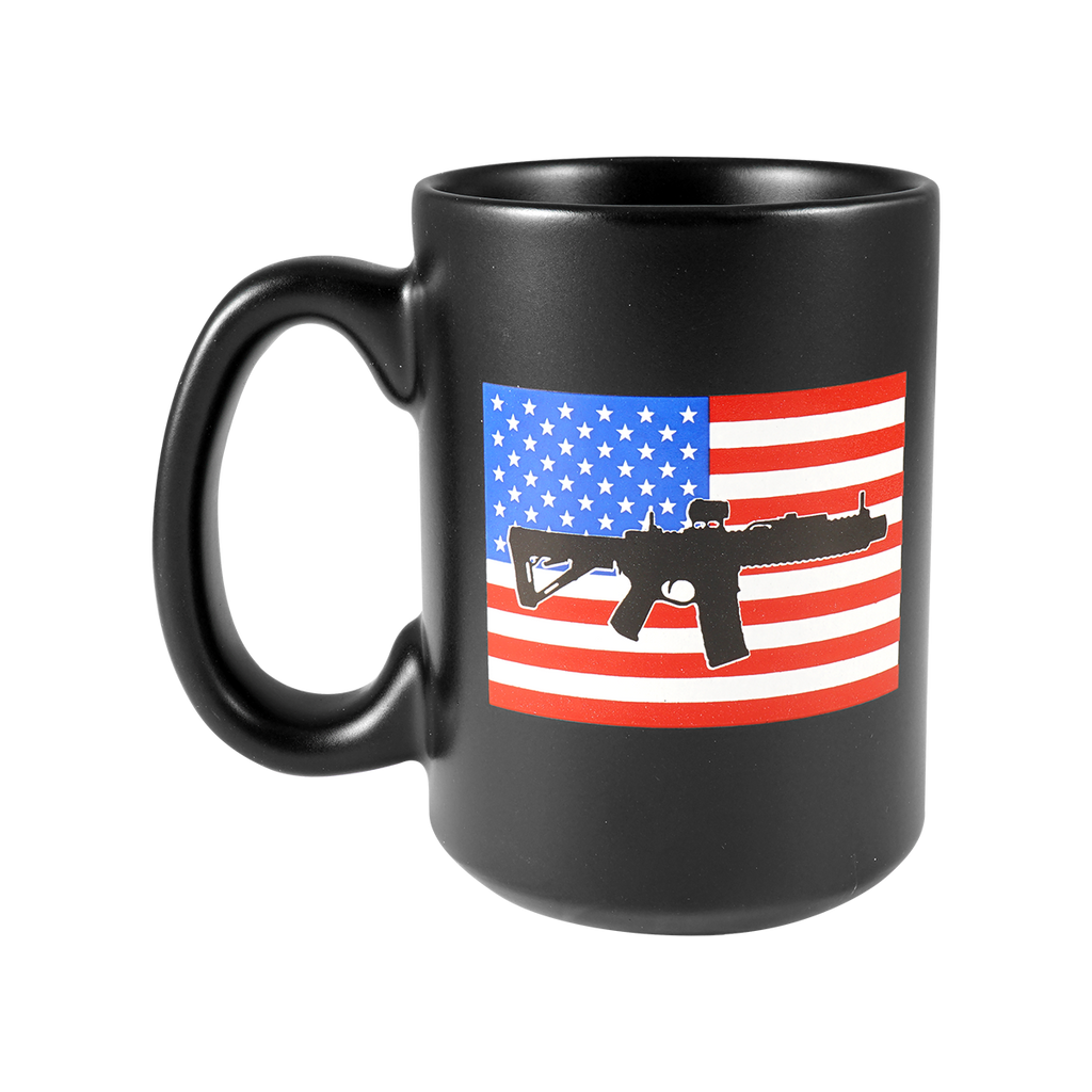 RWB AR Flag Ceramic Mug