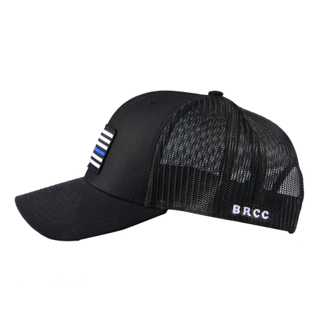 Thin Blue Line Flag Patch Hat