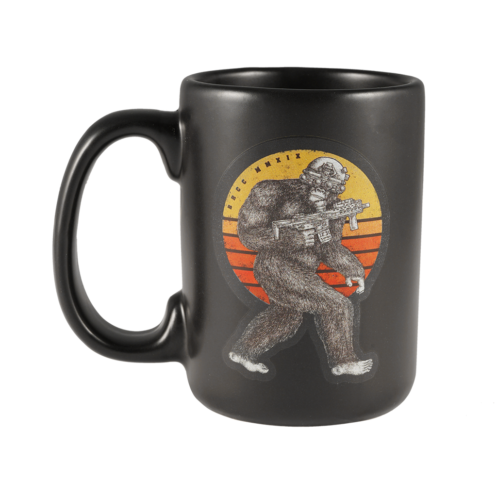 Tactical Squatch Ceramic Mug