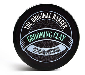 THE ORIGINAL BARBER SHOP GROOMING CLAY