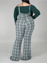 Load image into Gallery viewer, Plaid Jumpsuit