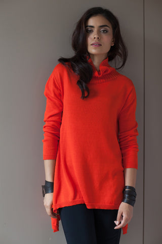 Seamless Droptail Turtleneck