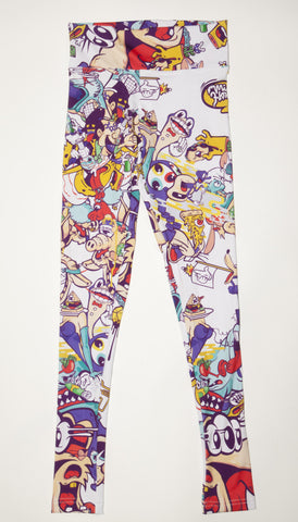 Acid Wolf Yoga Legging