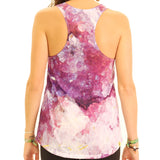 Druzy Black Merlinite Womens Tank Top