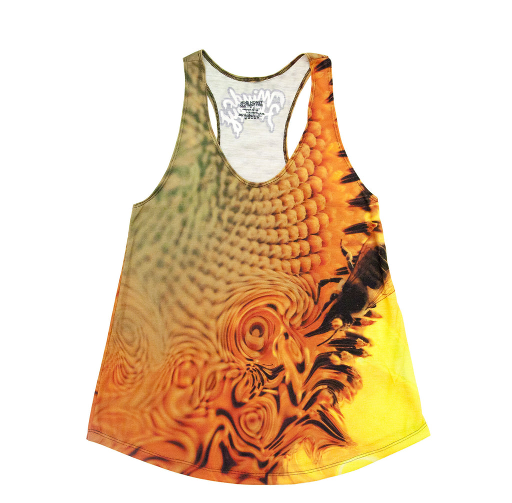 Sun Flower Nectar Womens Tank Top