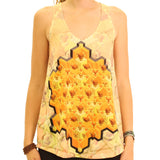 Mind Honeycomb Womens Tank Top