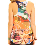 Pyramid of Prisms Womens Tank Top