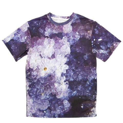 Druzy Black Merlinite T-shirt