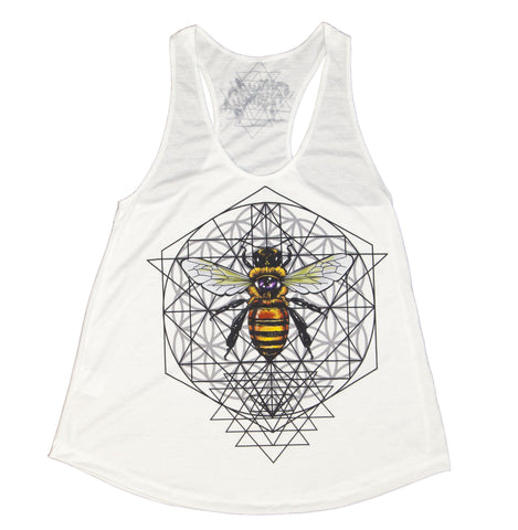 Sacred Bee Womens Tank