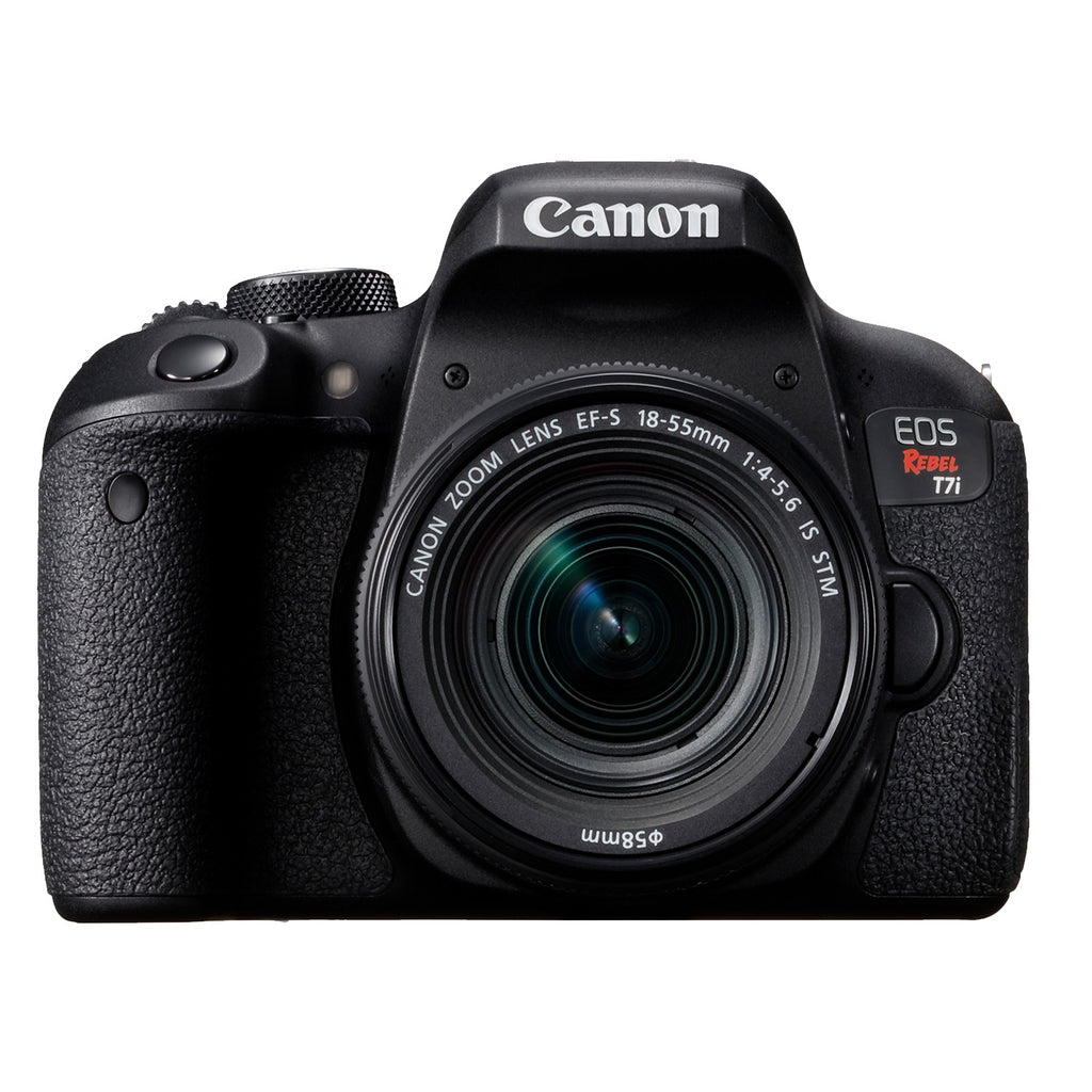 Canon EOS Rebel T7i with 18-55mm f4-5.6 IS STM