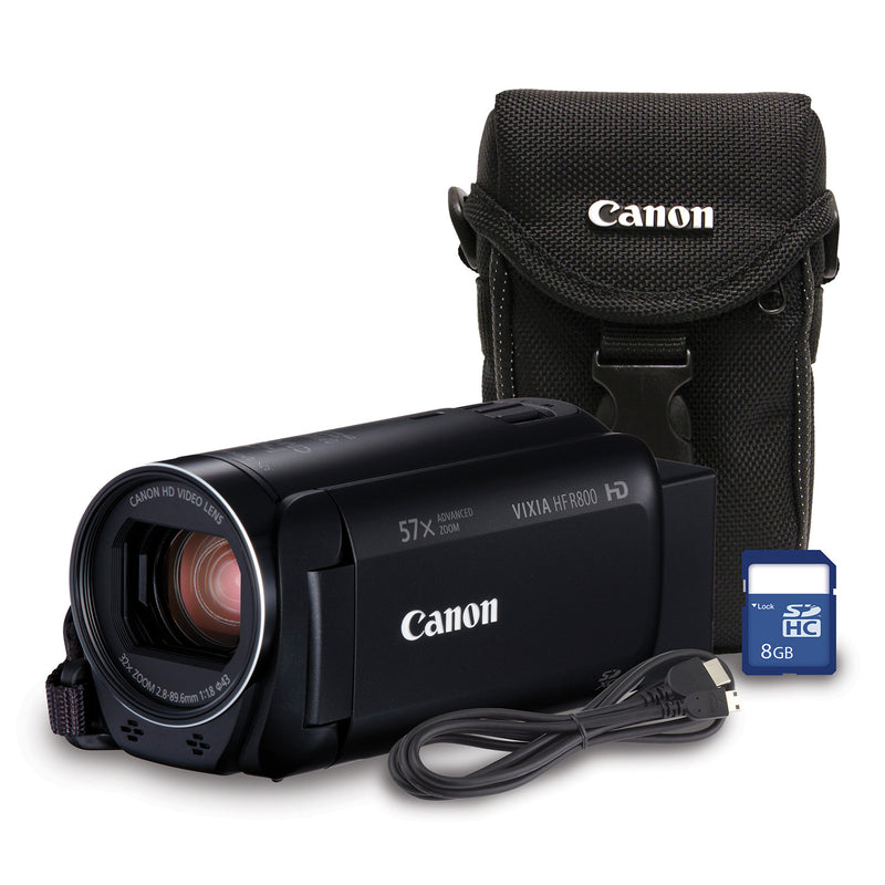 Canon Vixia HF R800 High Definition Camcorder Bundle