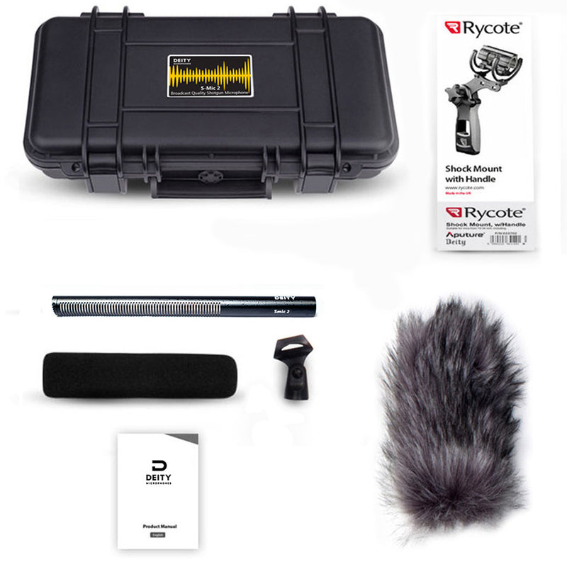 Deity S-Mic 2 Shotgun Mic Location Kit