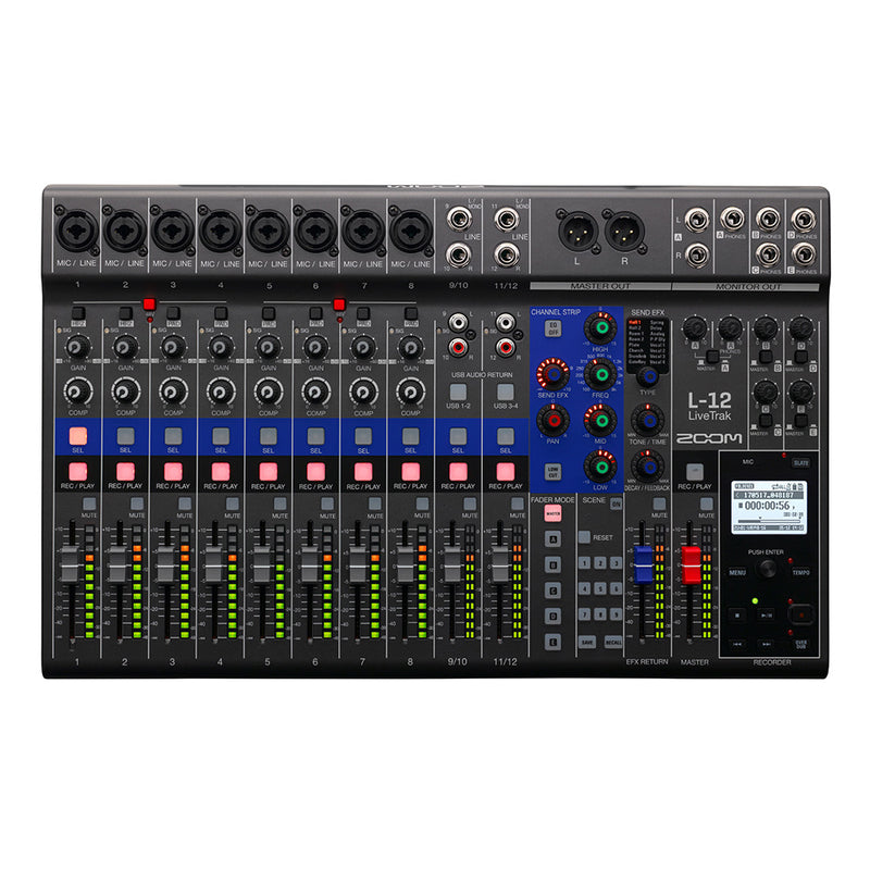 Zoom LiveTrak L-12 Mixer
