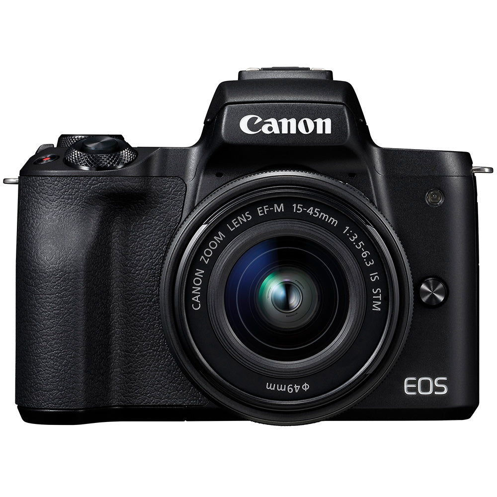 Canon EOS M50 with 15-45mm f3.5-5.6 IS STM