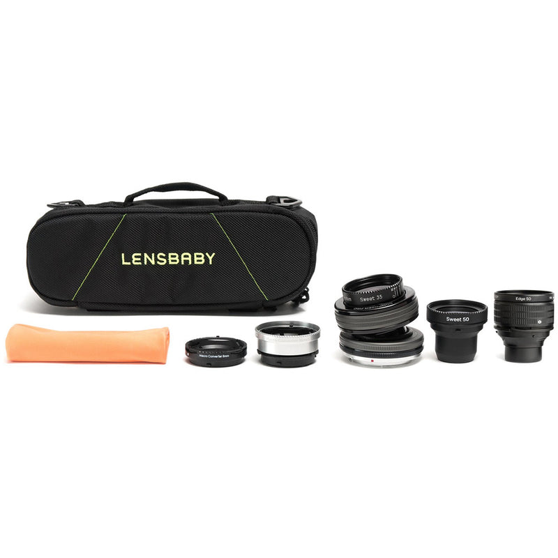 Lensbaby Composer Pro II Optic Swap Kit - Nikon F