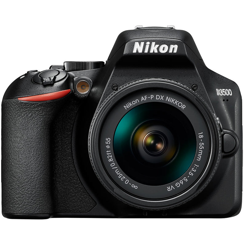 Nikon D3500 with AF-P DX 18-55mm f3.5-5.6 VR