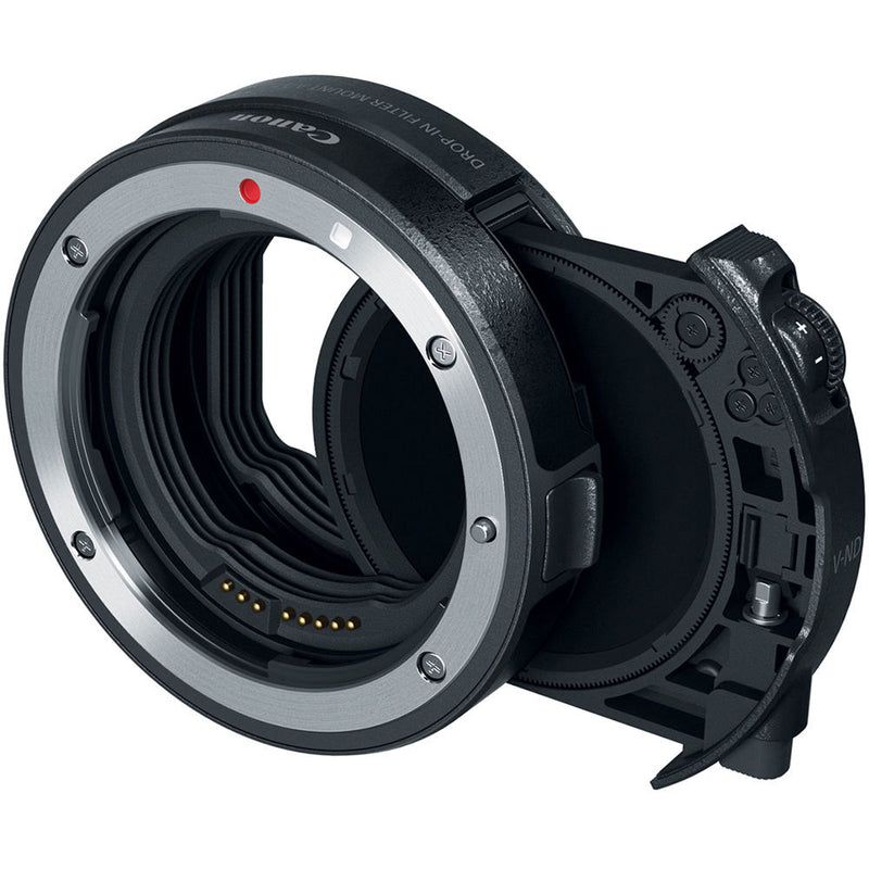 Canon Drop-In Filter Mount Adapter EF-EOS R With Variable ND A
