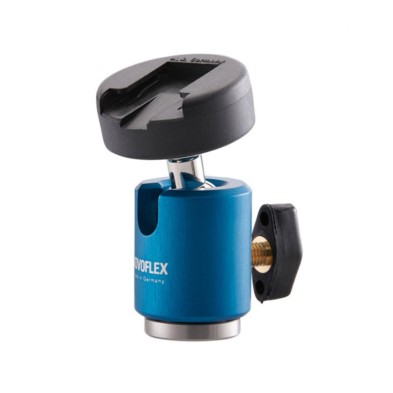 Novoflex Mini Ballhead with Cold Shoe