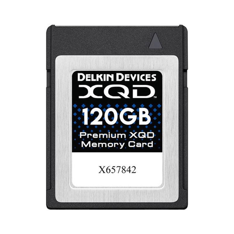 Delkin XQD 120GB Memory Card