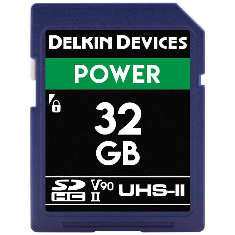 Delkin Power 32GB UHS-II (V90) 300MB/s