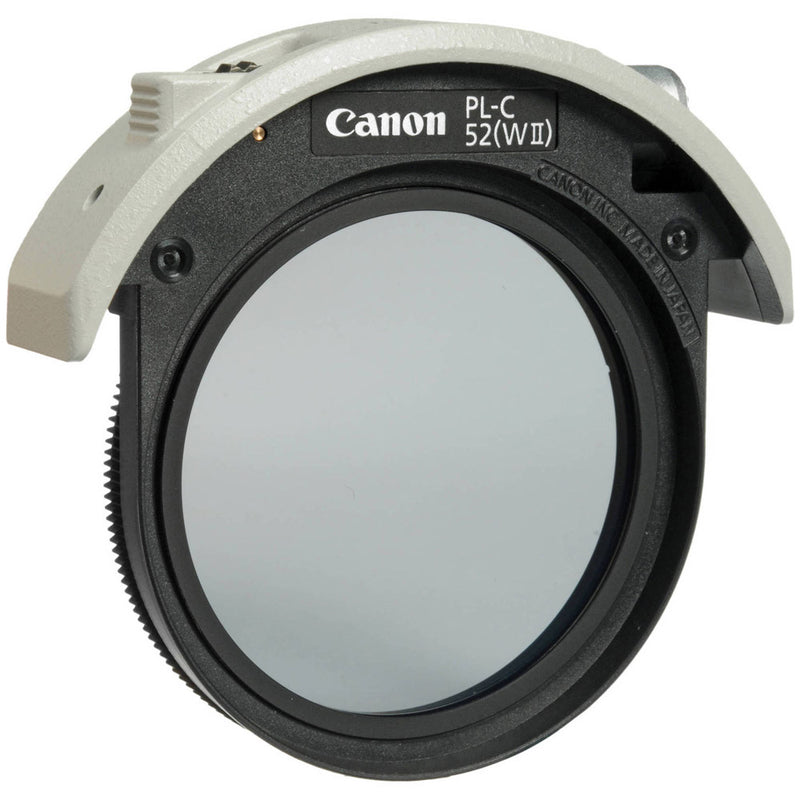 Canon PL-C 52WII 52mm Drop-In Circular Polarizer