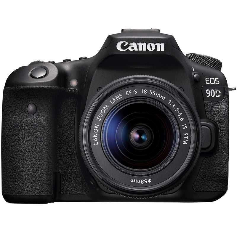 Canon EOS 90D with 18-55mm f3.5-5.6 IS USM