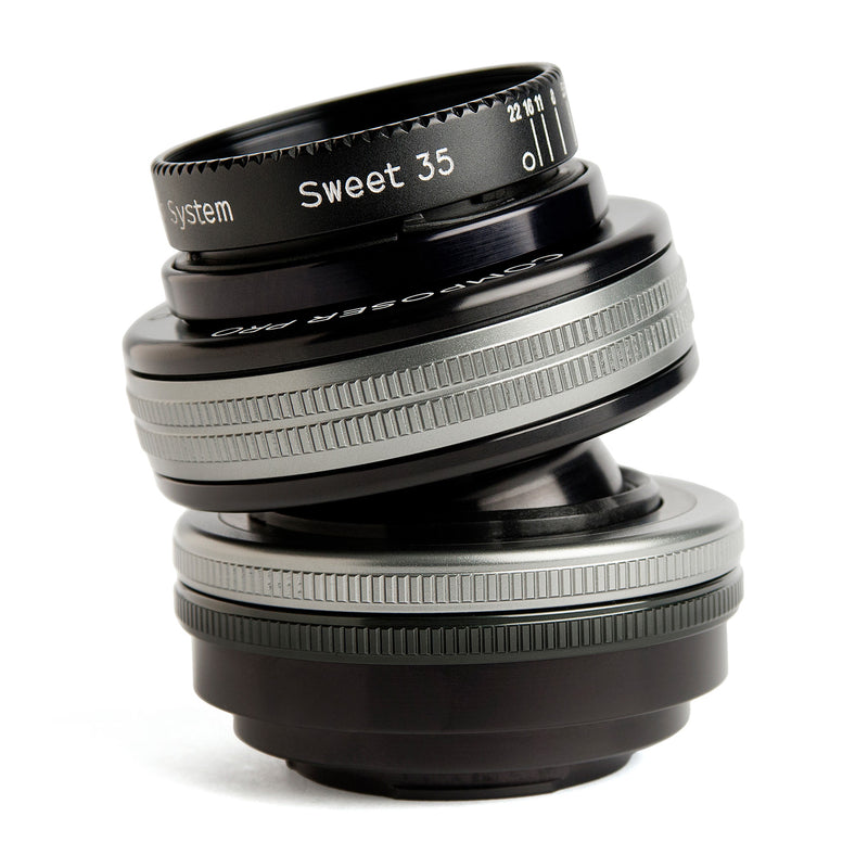 Lensbaby Composer Pro II with Sweet 35 Optic - Canon RF Mount