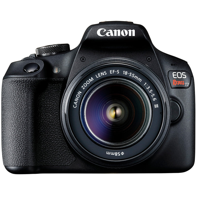 Canon EOS Rebel T7 with 18-55mm f3.5-5.6 III