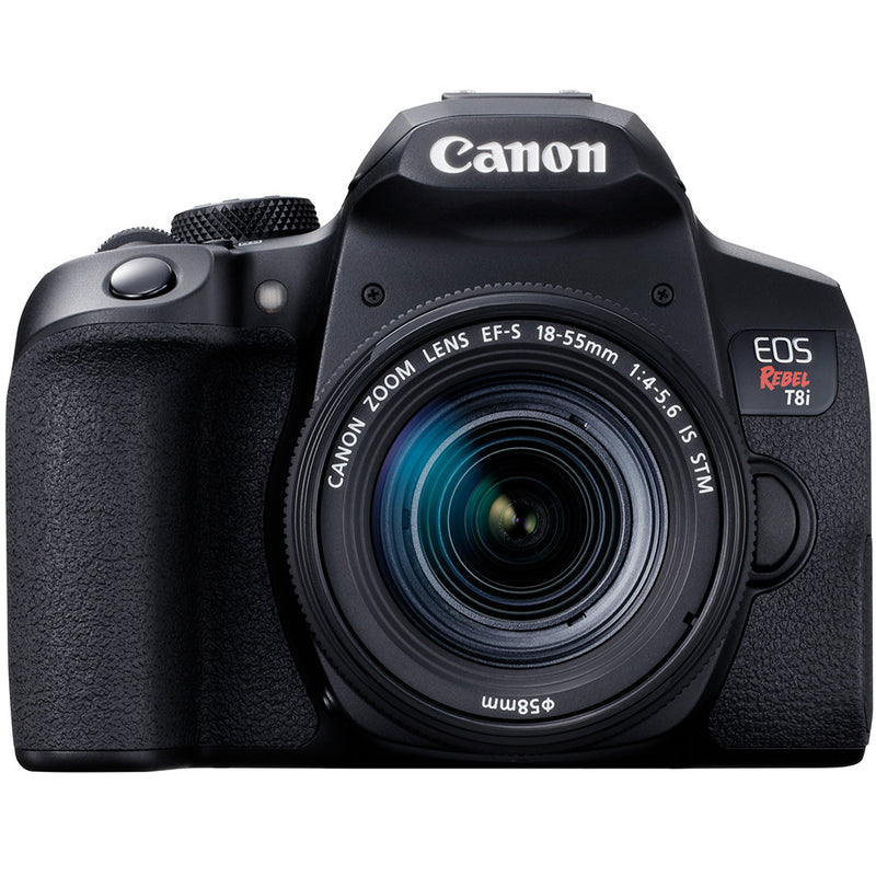 Canon EOS Rebel T8i with EF-S 18-55mm IS STM