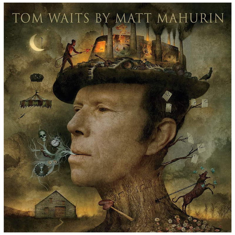 Tom Waits by Matt Mahurin