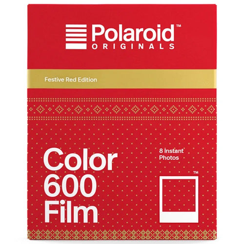 Polaroid Originals 600 Type Festive Red Edition