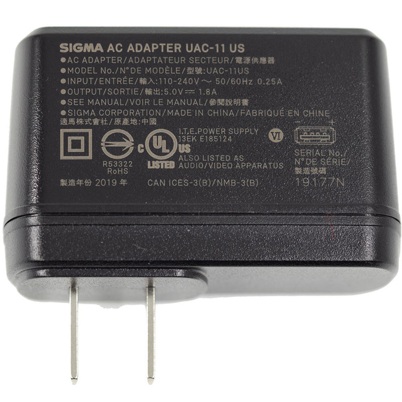 Sigma UAC-11 USB AC Adapter for fp