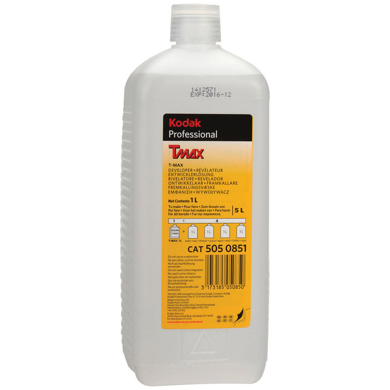 Kodak T-max Developer Liquid Concentrate - Makes 5L